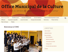 Tablet Preview of office-municipal-culture-colmar.fr